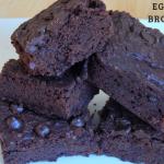 Eggless Brownie
