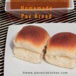 Homemade Pav Bread