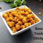 Roasted Tandoori Chickpeas
