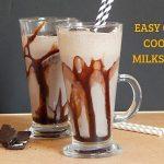 Easy Oreo Cookie Milkshake