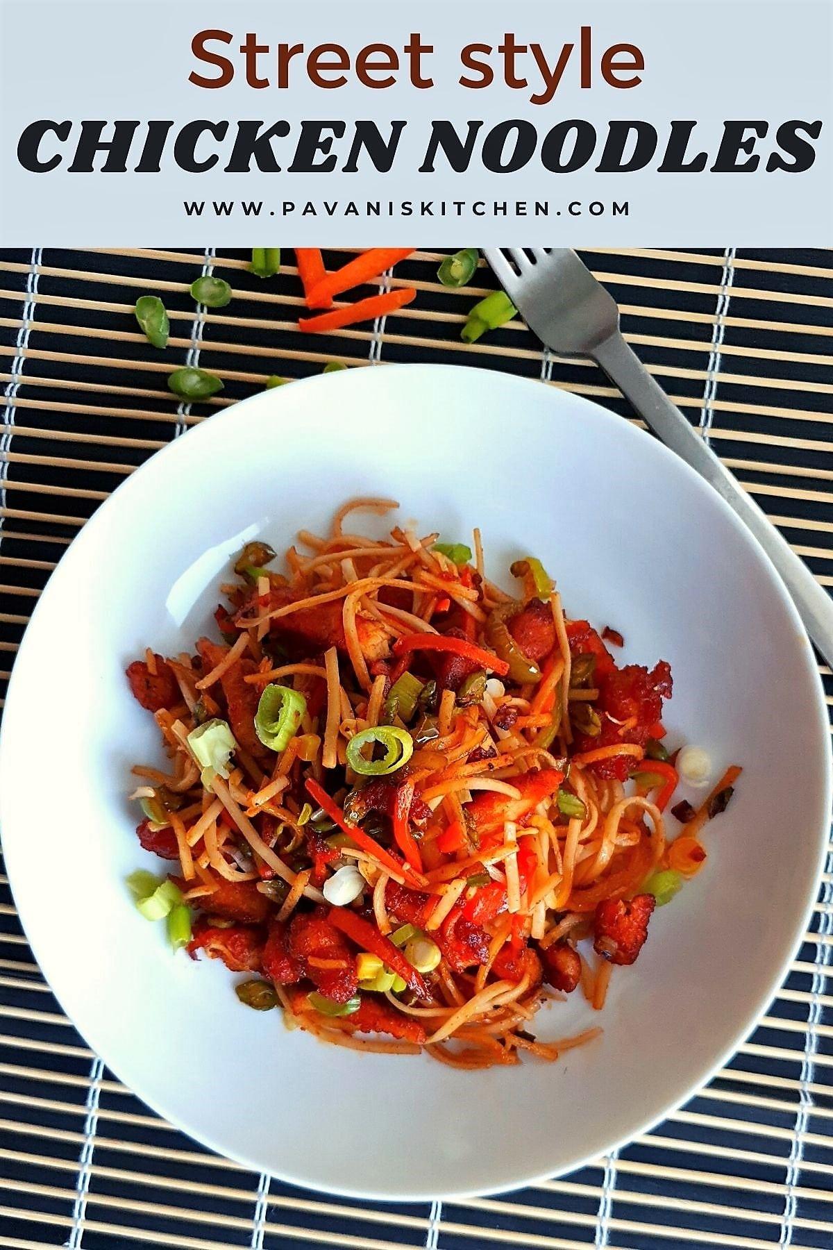 chicken noodles recipe